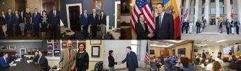 Vizita oficială în SUA, în perioada 18-19 septembrie 2019, a Prim-ministrului RM Maia Sandu